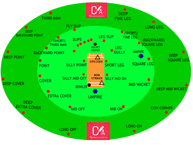 FIELDING POSITION IN CRICKET