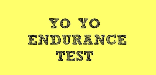 YO YO ENDURANCE TEST