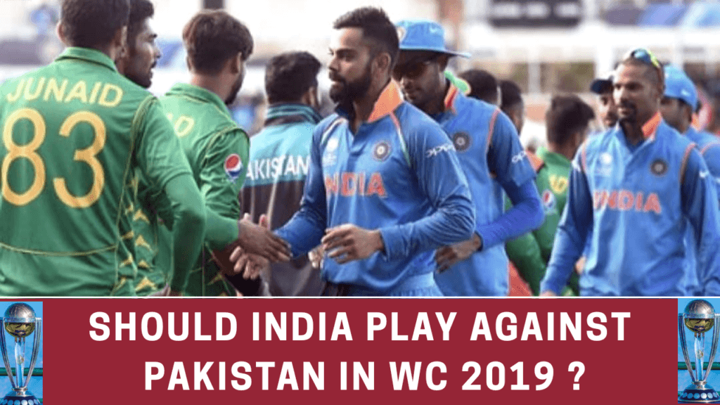 IND vs PAK | WORLD CUP 2019