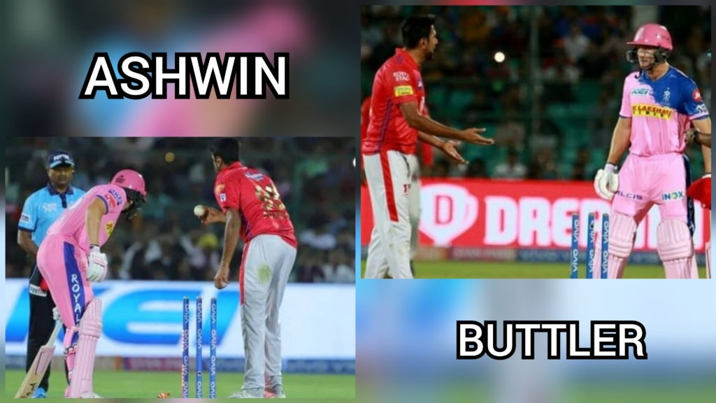 ASHWIN vs BUTTLER in IPL 2019 on being MANKAD