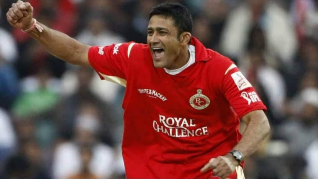 ANIL KUMBLE (ONE OF THE BEST LEG SPINNER IN IPL)