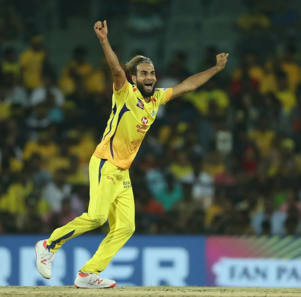 IMRAN TAHIR (ONE OF THE BEST LEG SPINNER IN IPL)