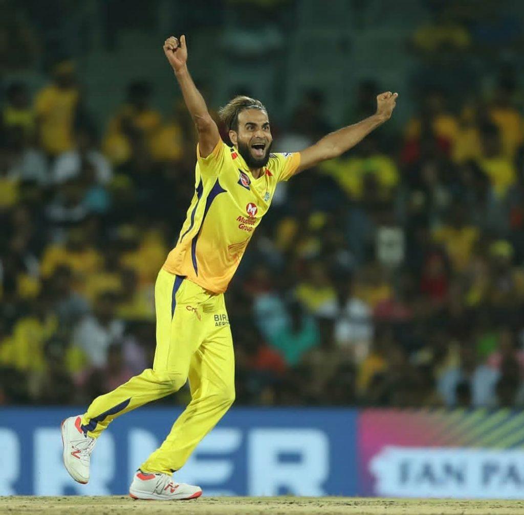 IMRAN TAHIR (ONE OF THE BEST LEG SPINNER IN IPL)