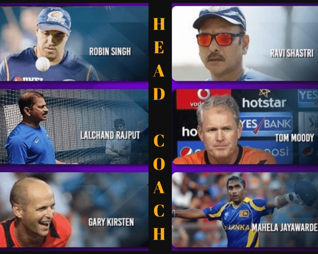 head coach of the indian team