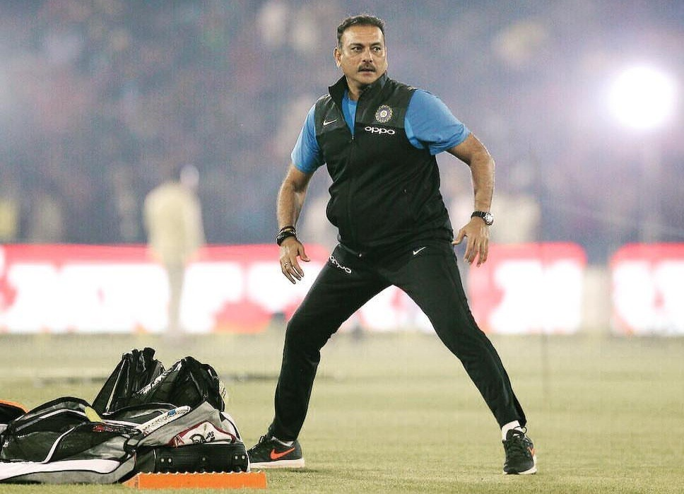 ravi shastri the head coach of indian team