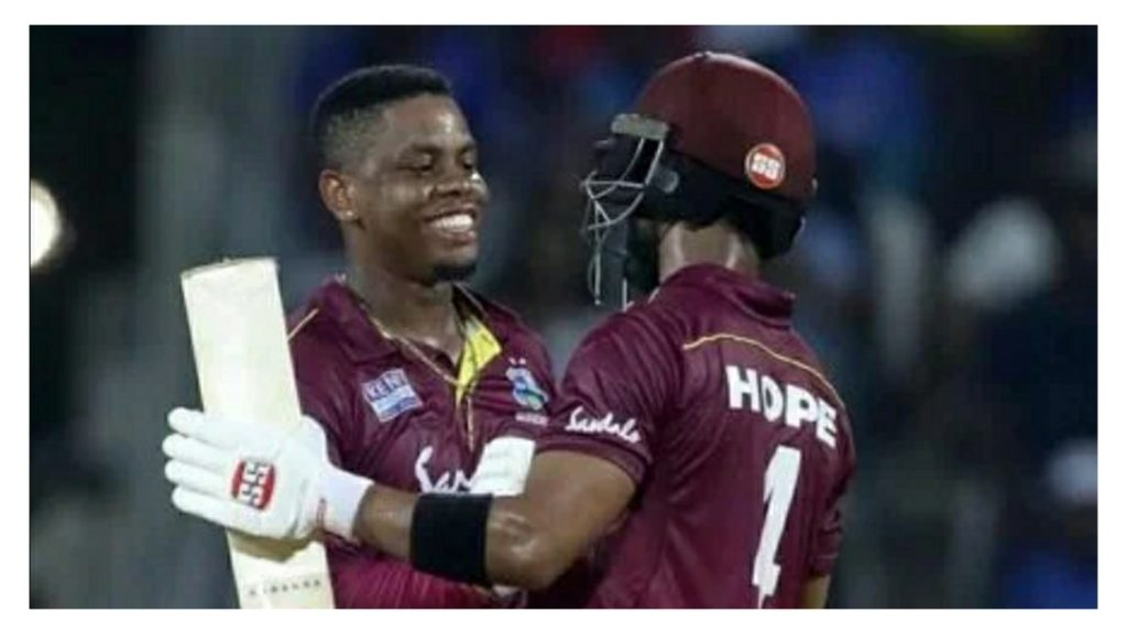 Shai hope and Shimron Hetmyer