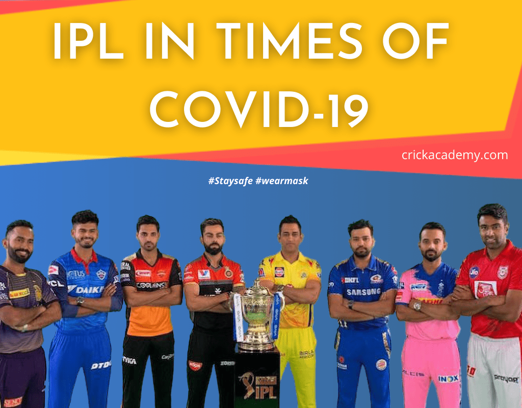 IPL 2020 in times of COVID-19