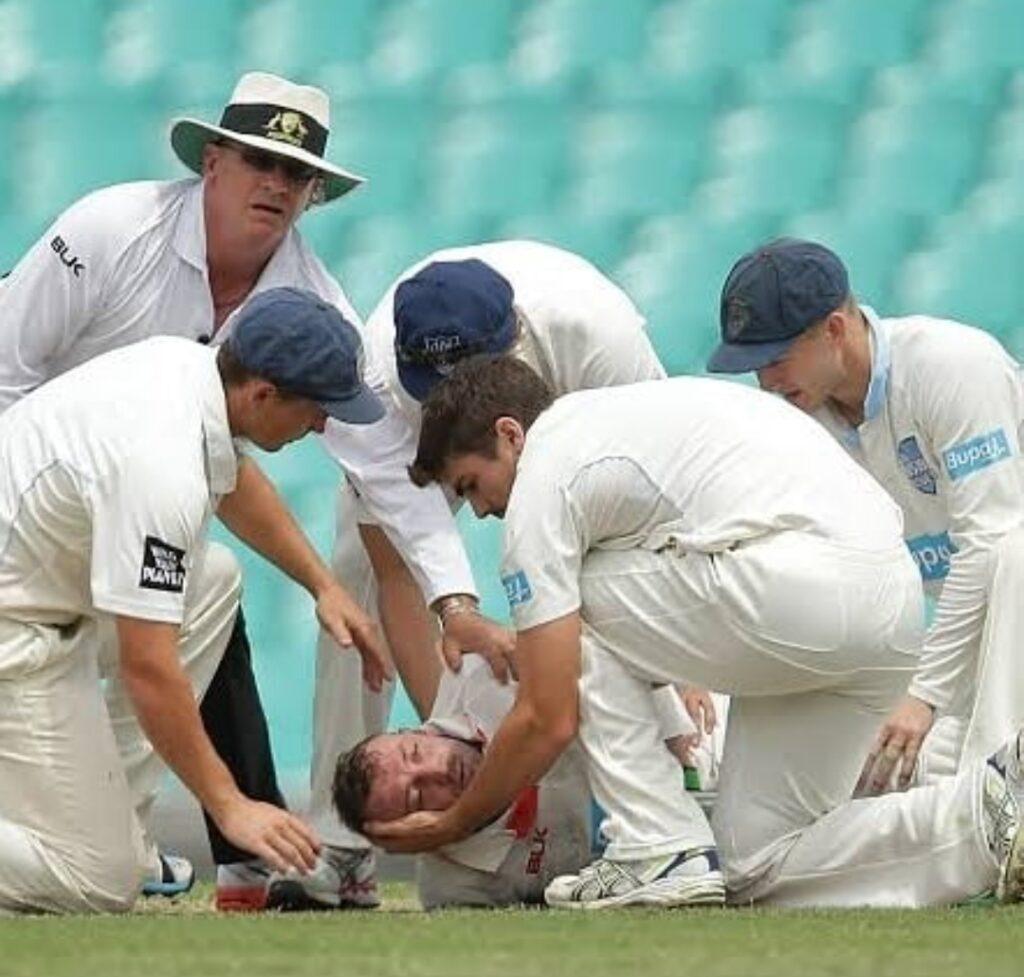 concussion in cricket