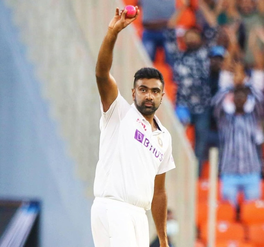Ravichandra Ashwin in Motera Stadium